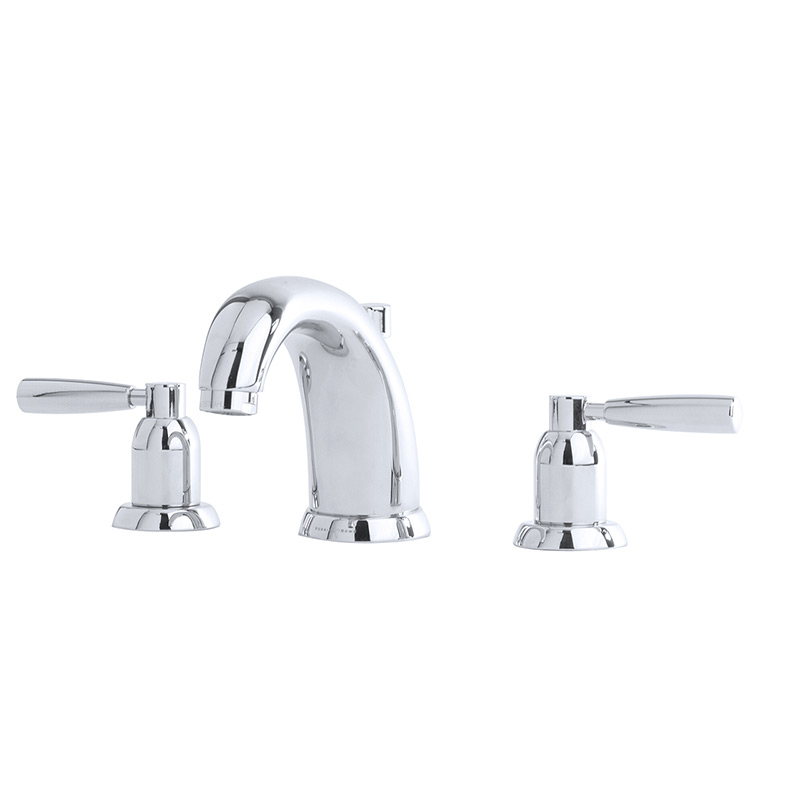 3830 Perrin & Rowe Three Hole Basin Mixer Tap Lever