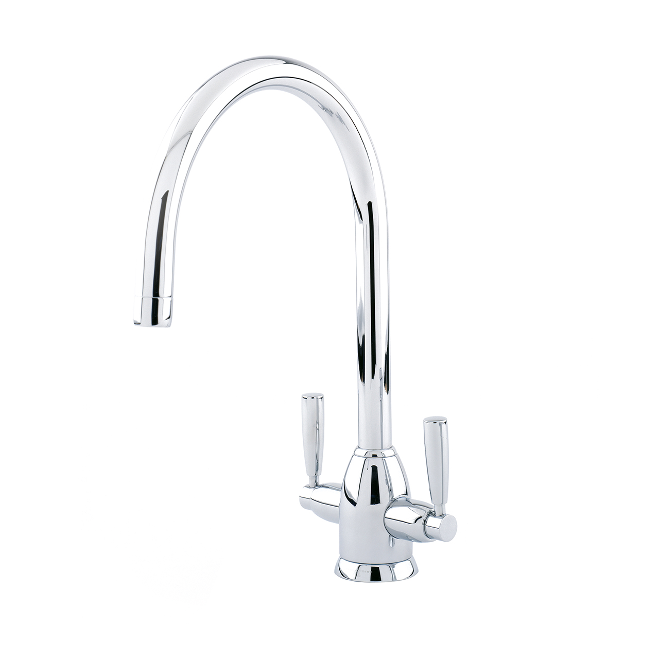 4861 Perrin & Rowe Oberon Monobloc Sink Mixer Tap C Spout with Lever ...