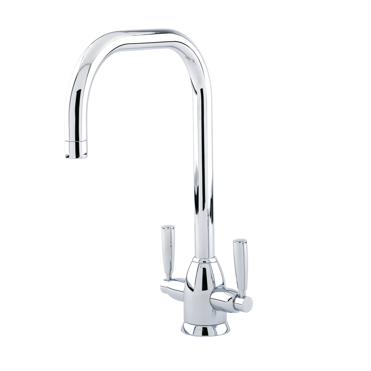 4863 Perrin & Rowe Oberon Monobloc Sink Mixer Tap U Spout with Lever ...