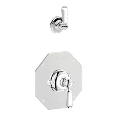 5575 Perrin Rowe Concealed Thermostatic Shower Mixer With Remote