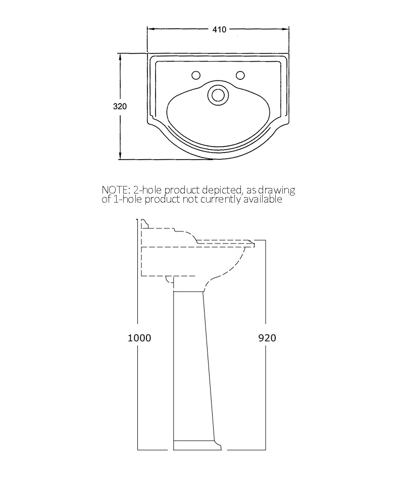 Technical drawings for Products 2911 and 2904