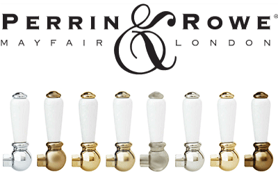 Finishes available on most Perrin & Rowe Products